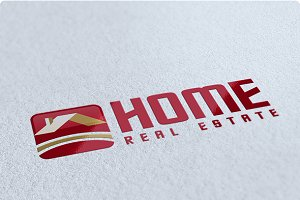 Home Real Estate Logo Design