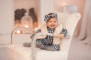 Stylihs cute baby girl