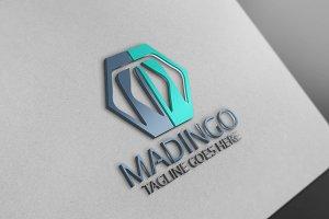 Madingo / M Letter Logo