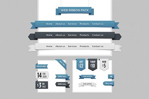 Web Ribbon Pack