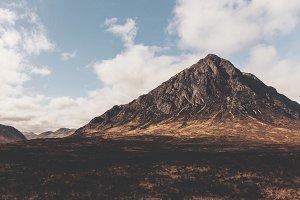 Mountain in Glencoe Scotland