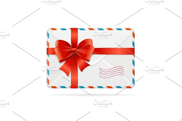 Mail Or Delivery With Bow