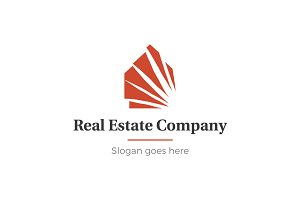 Home and real estate logo