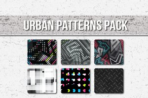 Vector Urban Patterns pack