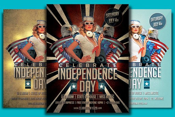 Independence Day Flyer Template in Flyer Templates