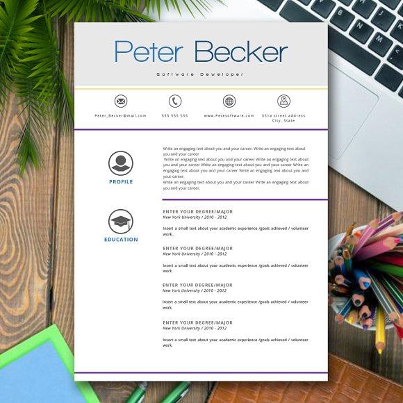 Resume Peter Becker