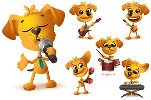 Yellow dog music band