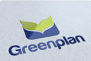 Greenplan Environmental Logo Design