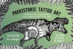 Prehistoric tattoo