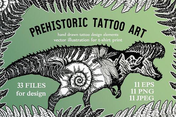 Prehistoric tattoo