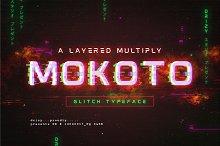 Mokoto Glitch Typeface