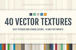 40 Vector Textures + Bonus