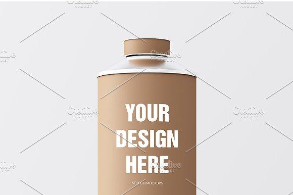Craft Matte Color Metal Jar 3in1