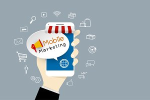 Mobile marketing design