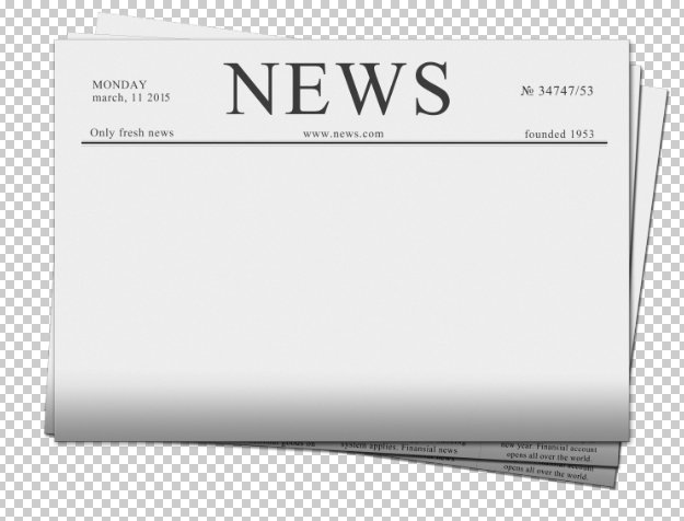 Blank Newspaper Product Mockups Creative Market