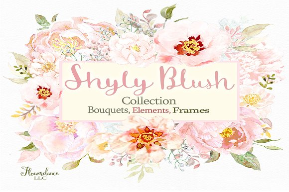 Shyly Blush Floral Collection