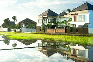 Cottages on Bali