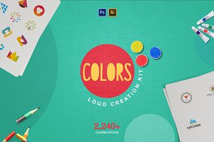Colors Logo Creation Kit -50%