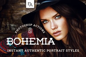 Bohemia Photoshop Actions