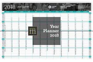 Year Planner 2018 (YP025-18)