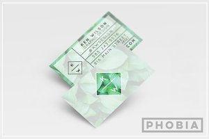 Flora Business Card Template