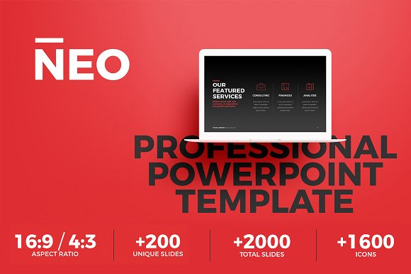 neo multipurpose powerpoint template presentation templates