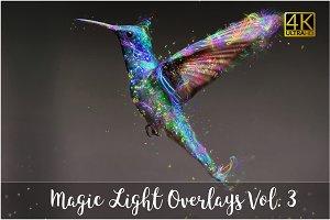4K Magic Light Overlays Vol. 3
