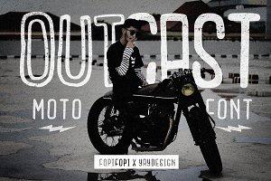 Outcast Motofont + Bonus