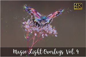 4K Magic Light Overlays Vol. 4