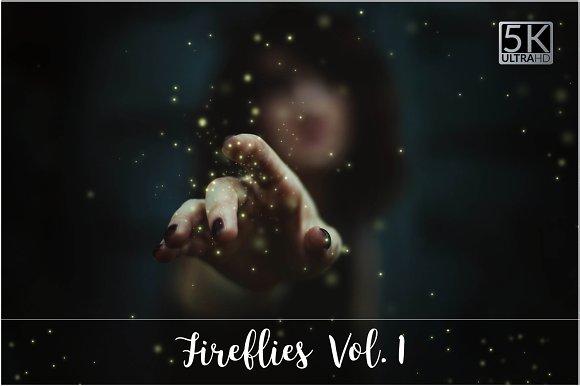 5K Fireflies Vol. 1-Graphicriver中文最全的素材分享平台