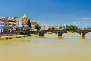 Ponte Vecchio Firenze estate
