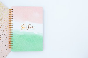 Pretty Notebook - Stationary