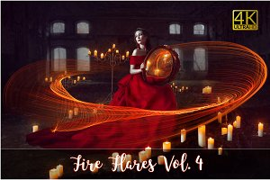 4K Fire Flares Vol. 4