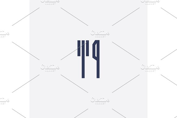 Abstract Simple Design Vector Fork And Knife