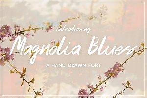 Magnolia Blues Font