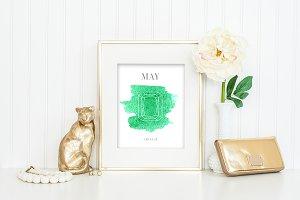 May Birthstone Printable