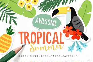 Tropical Summer Set