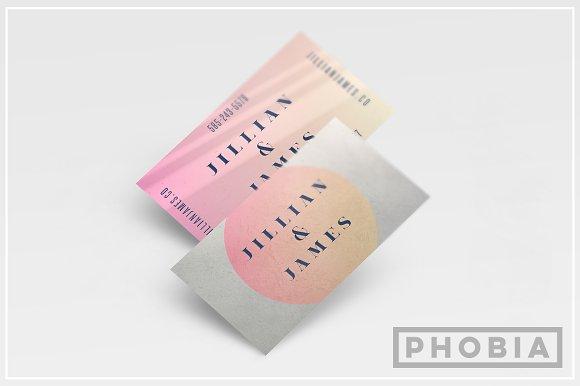 Gradient Modern Business Card