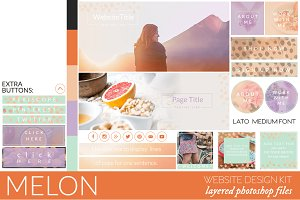 Melon Website/Blog Kit