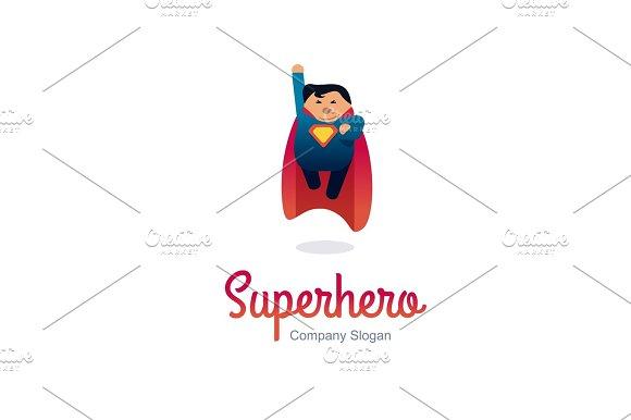 superhero logo concept logo templates creative market