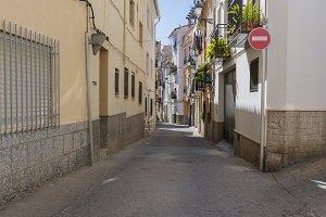 Street of Segorbe.