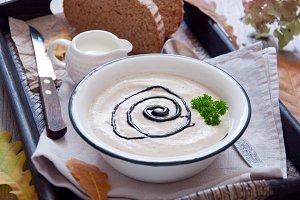 Autumn creamy soup