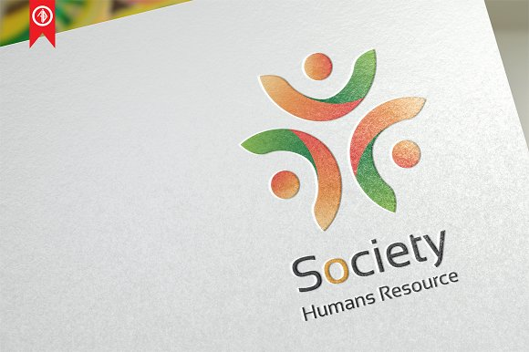 Society People Logo Template