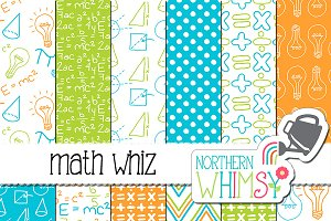 School Patterns:  Math Whiz