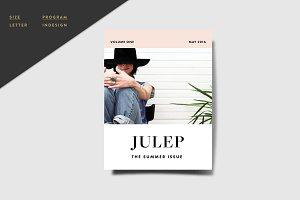 Magazine Template - Julep