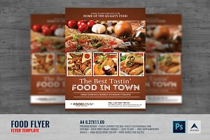Food Offer Service Flyer