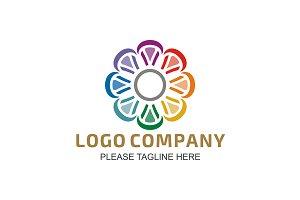 Dynamic Flower Logo
