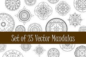 Mandala Vector Clipart