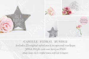Camille Floral Stock Bundle