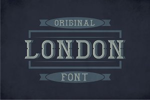 London Label Typeface